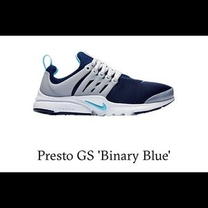 Nike Presto GS 'Binary Blue' - Like New!